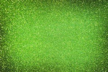 Emerald green glitter