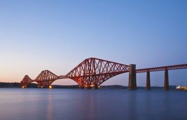 The Forth Rail Bridge crossing between Fife and Edinburgh, Scotl