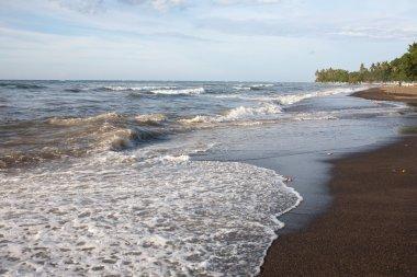 Sunrise view in Lovina beach, Bali