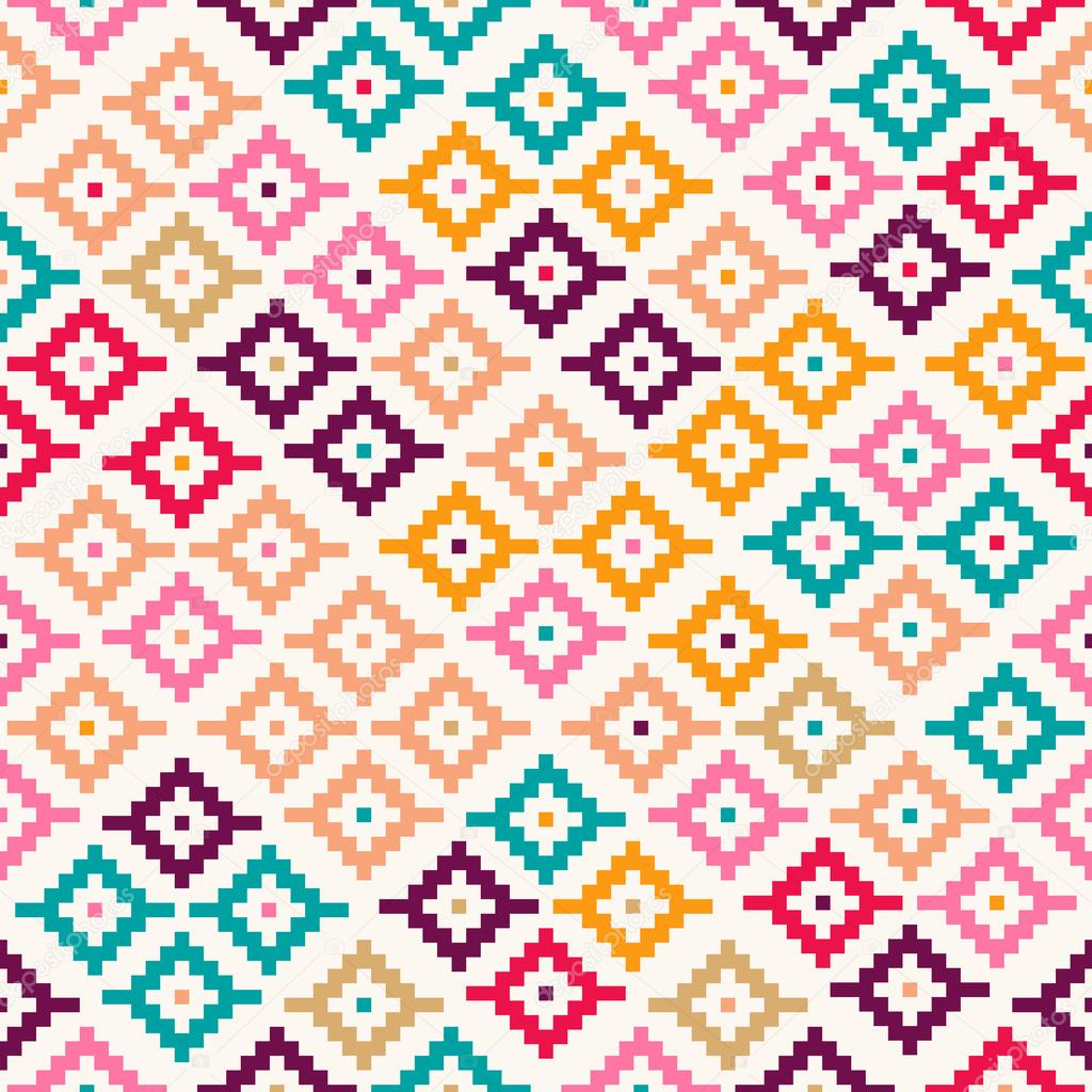 Table pattern stock vectors royalty free table pattern colorful tribal seamless pattern pixelated stock illustration gamestrikefo Image collections