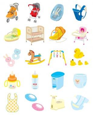 Baby goods / Illustration