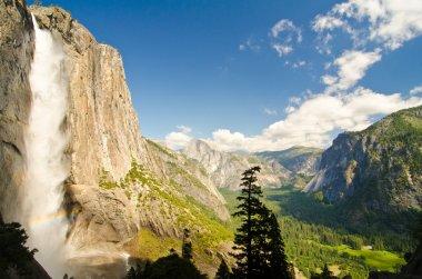 Upper Yosemite Falls and Yosemite Valley