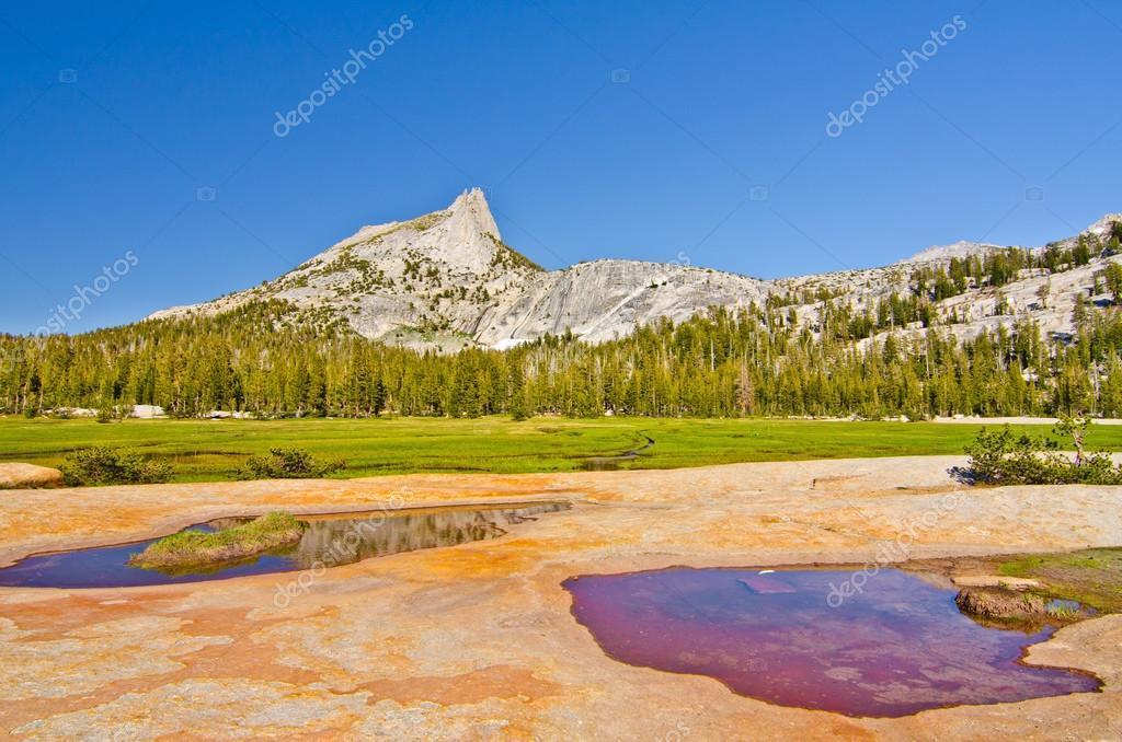 Cathedral Peak at Yosemite National Park