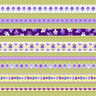 Violet-ribbons
