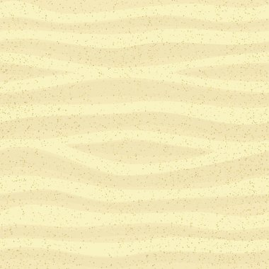 Seamless sand surface, vector background illustration, eps10 stock vector