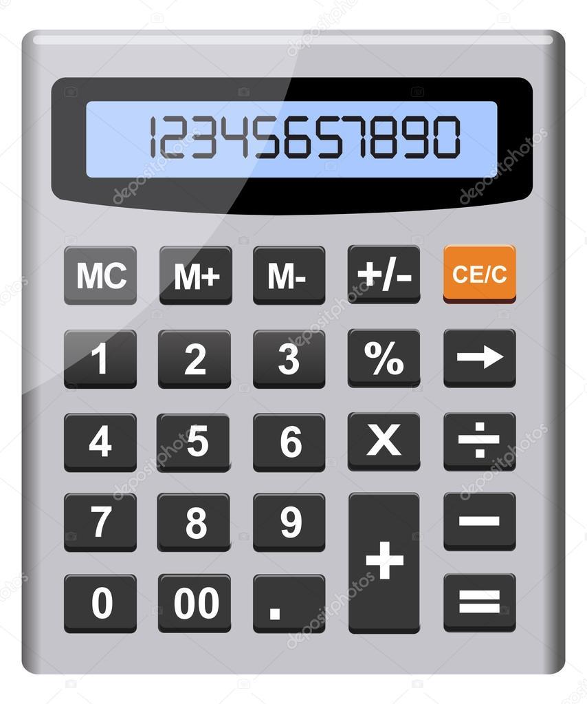 Vector calculator — Stock Vector © sarahdesign85 #41179261