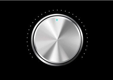 Technology music button