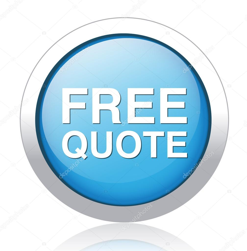 Free Quote Free Quote Button  Stock Vector © Sarahdesign85 41585339
