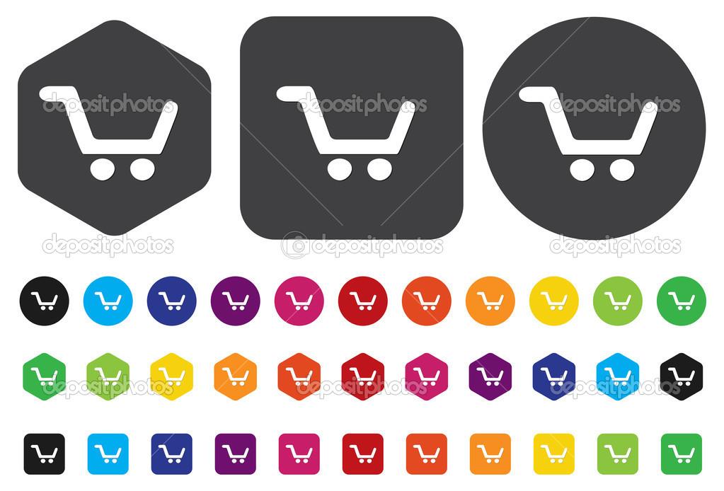 Aggiungi al carrello pulsante — Vettoriali Stock © sarahdesign85 ... c551026e1a3