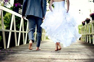 "Картина, постер, плакат, фотообои ""красивая свадебная пара"", артикул 21085445"