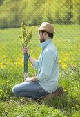 Zahradník, péči o stromy