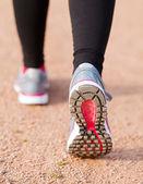 běžecké boty zblízka