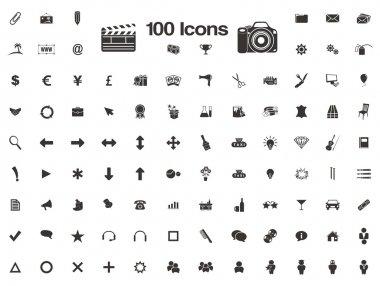 100 icons - favicon