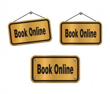 Book online - bronze signs