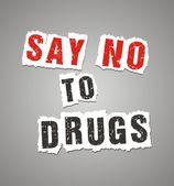 Fényképek mondani, hogy nem gyógyszerek poszter