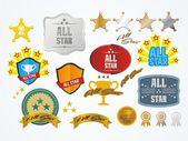Fotografia tutti i kit di decorazione stella