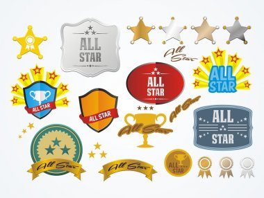 All star decoration kit