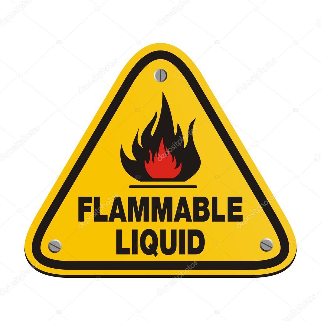 Triangle sign flammable liquid stock vector yellomello 45783661 triangle sign flammable liquid stock vector buycottarizona