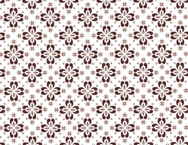 Indonesian native pattern