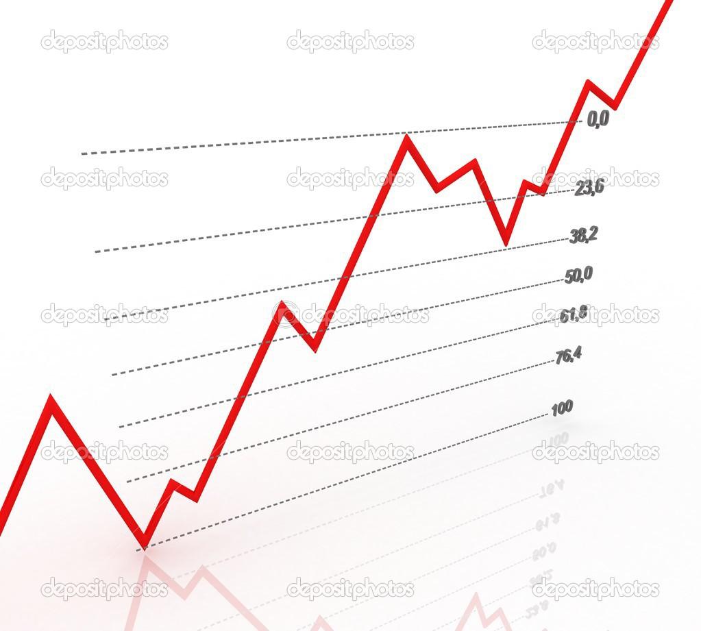 Chart diagram fibonacci number stock photo swevil 37932379 3d grfico mostrando aumento nos lucros ou resultados foto de swevil ccuart Gallery