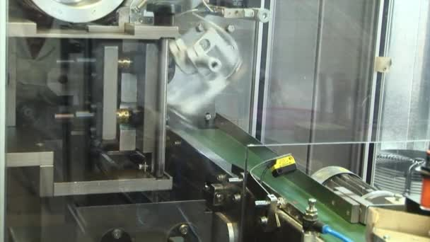 Automated production of medicines.