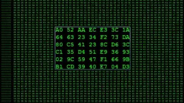 zelené číslice