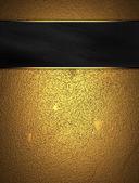 Fényképek grunge arany háttér fekete névtábla