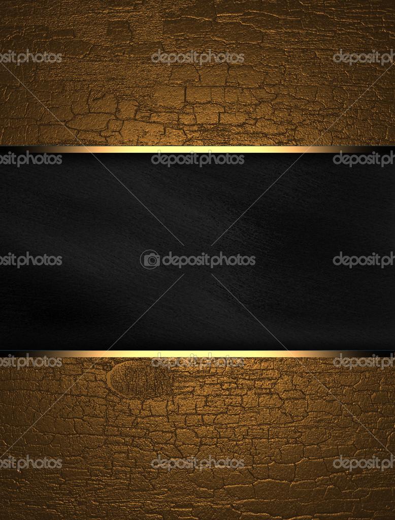 gold grunge hintergrund mit schwarz textur stripe layout stockfoto swevil 38377375. Black Bedroom Furniture Sets. Home Design Ideas