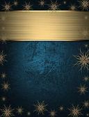 Fényképek gyönyörű karácsonyi kék háttér, a csillag a széleken