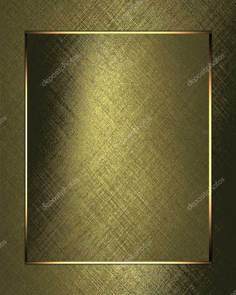 Gold background with gold leaf paper. Design template
