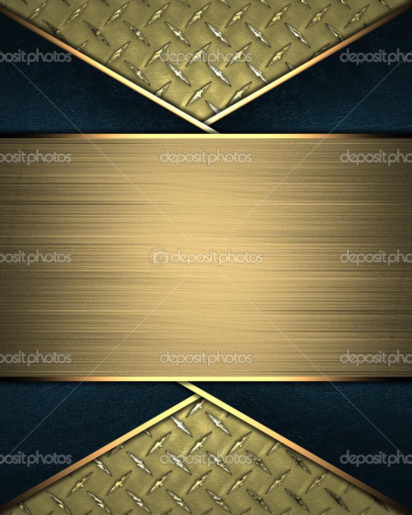 plantilla para la escritura. Resumen fondo amarillo con signo de oro ...