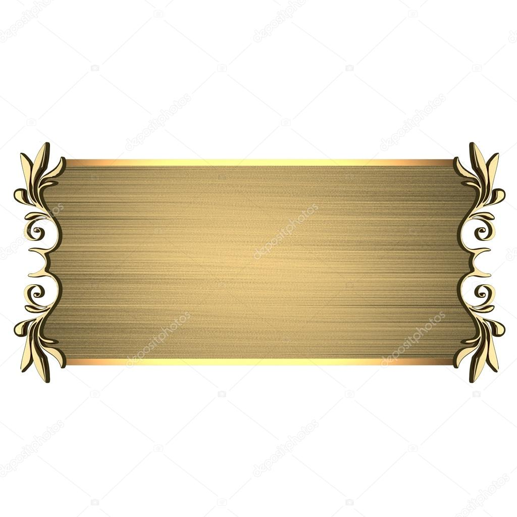 Табличка на стол с именем