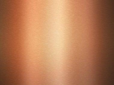 Shiny copper plate