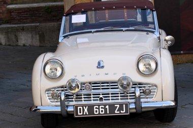 Historic cars, details, wheels