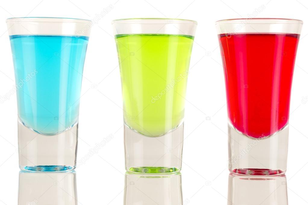 Multi ColouredShots