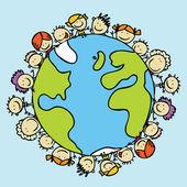 Fotografie Kinder Frieden