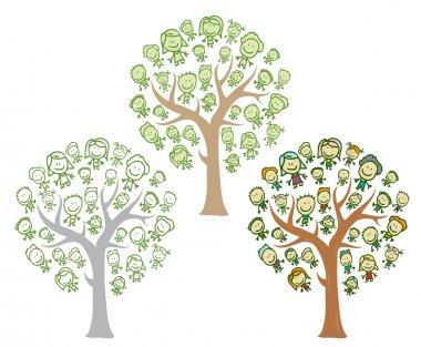 Kids trees