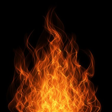 Fire and flame background