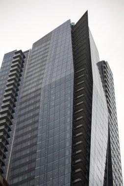 Strikingly angular highrise building