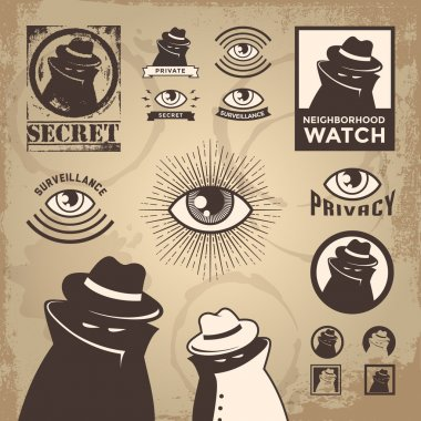 Sketchy Criminal, Surveillance Agent, and Privacy Spy
