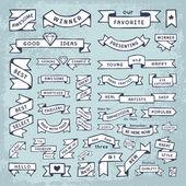 Hand Drawn Banner Elements
