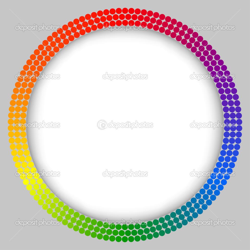 Rainbow Frame, abstrakte Vektor — Stockvektor © Ferdiperdozniy #39153461