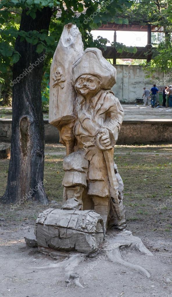деревянная скульптура с украины