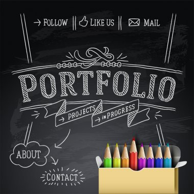 Web design template, vector Eps10 Illustration.
