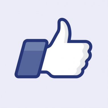 Like thumbs up symbol icon