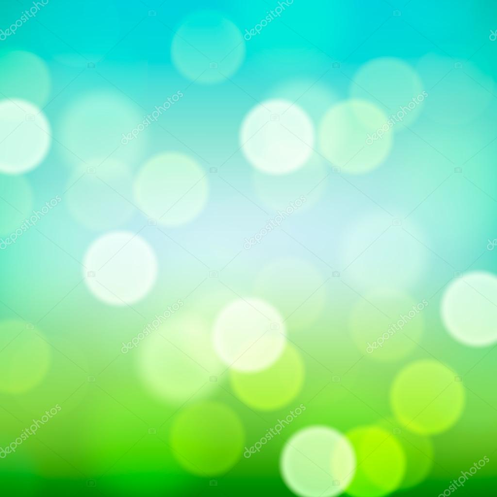 Bright colorful blurred natural background