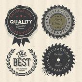 Vintage set prémium minőség és garancia Címkék