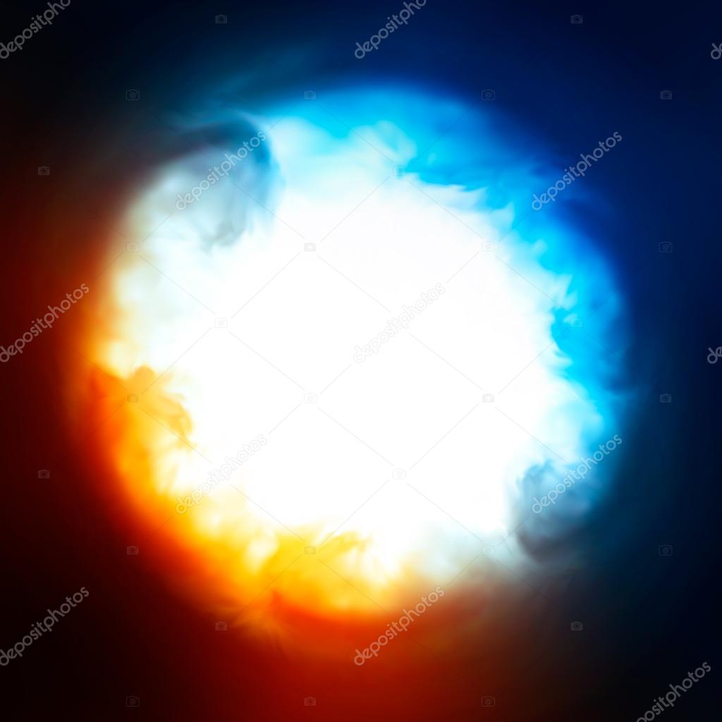 Abstract background, explosion in the sky
