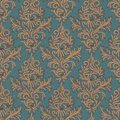Seamless pattern in the style of Damascus.