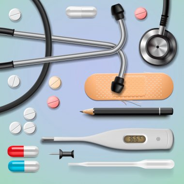 Medical equipment, isolated